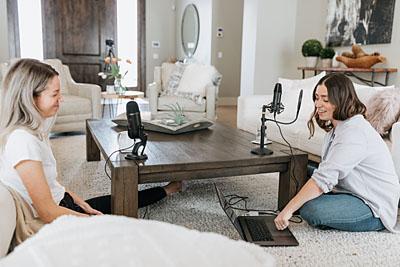 Podcasting von Zuhause