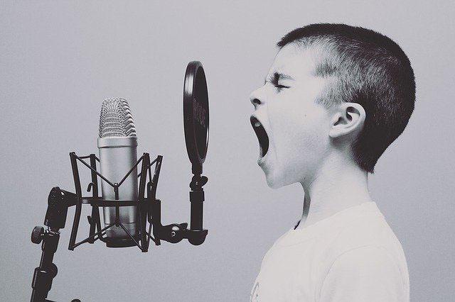 Podcasts professionell Sprechen